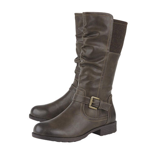 Lotus Adriana Mid-Calf Ladies Boots (Size 3) - Brown