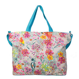 Bulaggi Collection - Bess Shopping Bag (Size 50x36x12 Cm) - Turquoise/Multi