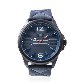 STRADA Japanese Movement Water Resistance Watch - Navy Blue