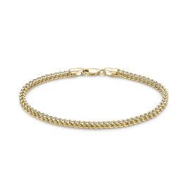 9K Yellow Gold Spiga Bracelet (Size 7), Gold wt 3.50 Gms