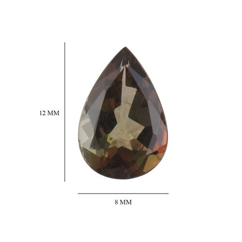 AA Andalusite Pear 12x8 Faceted 2.60 Cts