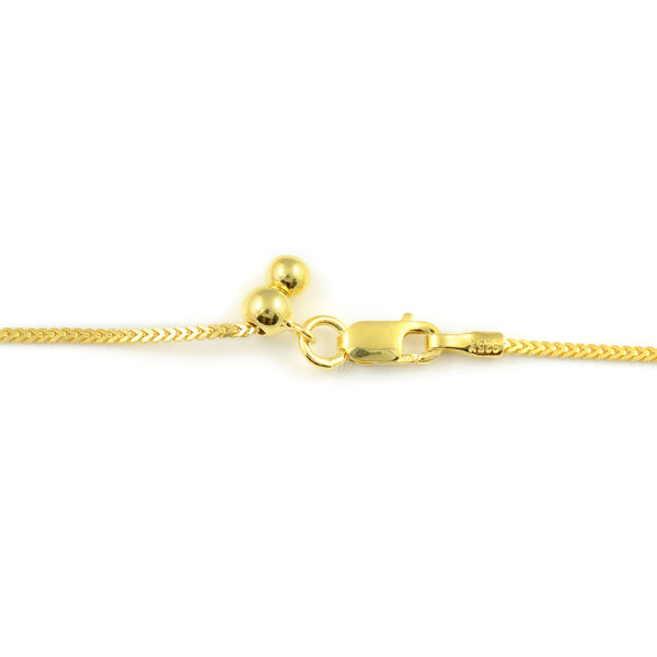 NY Close Out - Diamond Cut Designer Rope Matinee Necklace (Size 24) in 14K Gold Overlay Sterling Silver