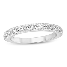 NY Close Out-14K White Gold Diamond (SI2/G-H) Ring 0.75 Ct.