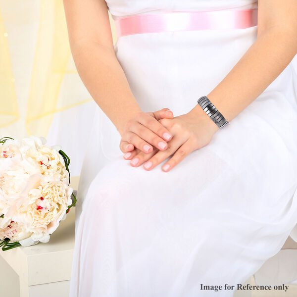 Hematite Bracelet (Size 7.5) 352.500  Ct.