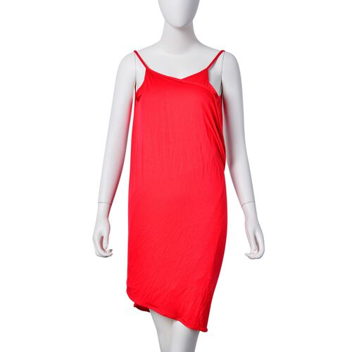 Summer Special Red Colour Beach Wrap (Size 140X70 Cm)