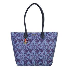 Bulaggi Collection - Marcella Shopper Bag (Size 29x30x13 Cm) - Blue