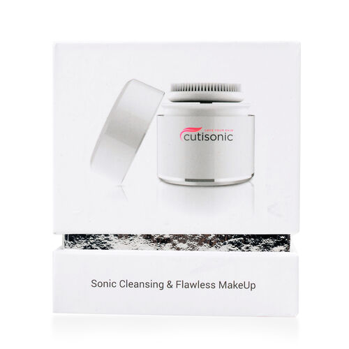 Cutisonic Sonic Face Cleaning Brush And Make up Applicator