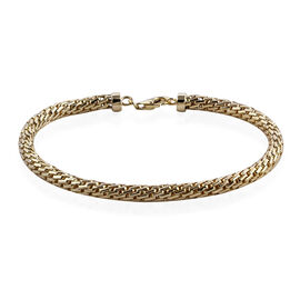 Close Out Deal - 9K Yellow Gold Bracelet (Size 7.25), Gold wt 8.48 Gms