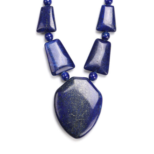 Lapis Lazuli Necklace (Size 20 with Extender)