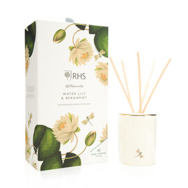 RHS - Wax Lyrical England - Luxury Reed Diffuser 250ml - Water Lily & Bergamot
