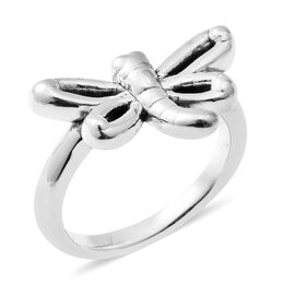 One Time Close Out Deal-Sterling Silver Butterfly Ring.Silver Wt 4.30 Gms
