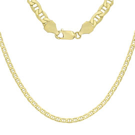 9K Yellow Gold Rambo Chain (Size 18), Gold wt 7.20 Gms