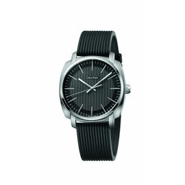 Calvin Klein Swiss Made Mens Analog Black Watch
