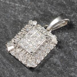 IGI CERTIFIED RHAPSODY 950 Platinum Diamond (E-F/VS) Pendant  0.50 Ct.