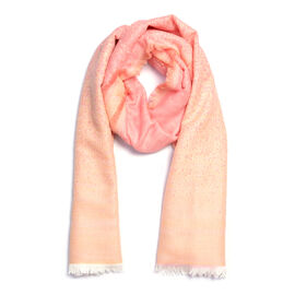 Close Out Deal- Rose Colour Scarf (Size 190x70 Cm)