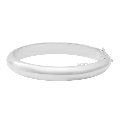 Stacker Bangle in Sterling Silver 7.5 Inch