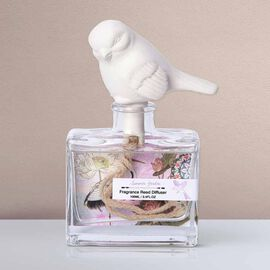 Decorative Scented Reed Bird Diffuser (100 ML) - Garden Fragrance