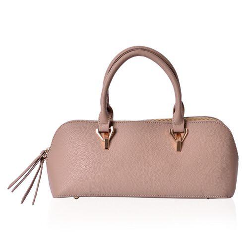 Beige Colour Tote Bag (Size 34x15x13 Cm)