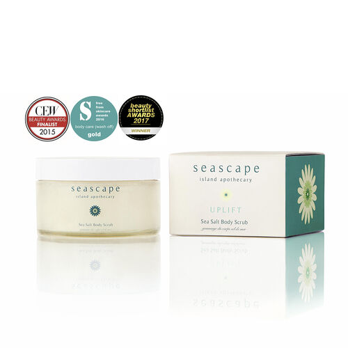 Seascape Island Apothecary: Uplift Sea Salt Scrub - 175ml