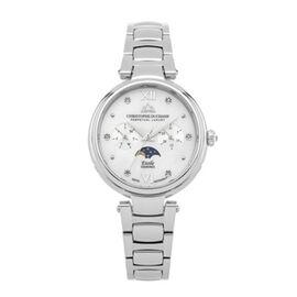 Limited Edition - CHRISTOPHE DUCHAMP ETOILE Swiss Movement White Dial Genuine Diamond Studded  5 ATM