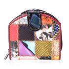 Multi Colour Applique Work Wallet (Size 10.5x10.5x3 Cm)