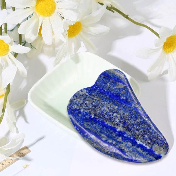 Lapis Gua Sha (Scraping Plate) in Gift Box