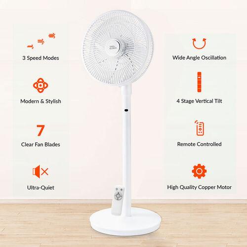 Value Buy- TORS & OLSSON 14 Inch Digital Pedestal Fan With Remote Control