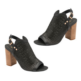 Ravel Clifton Heeled Sandals (Size 6) - Black