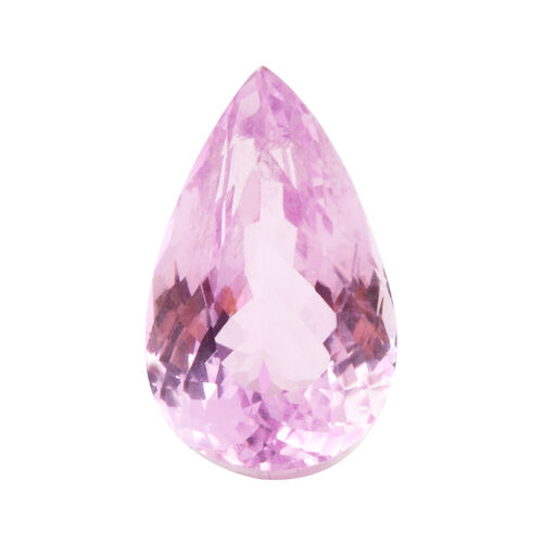 Kunzite (Pear 16.5x10 Faceted 3A) 8.900 Cts