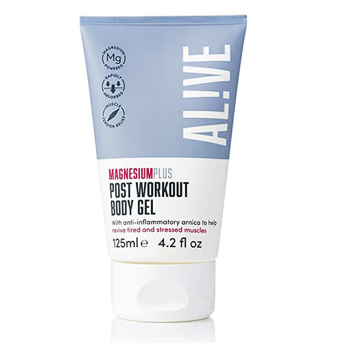 ALIVE: Magnesium Post Workout Body Gel (Enriched with Arnica Extract) - 125 ml