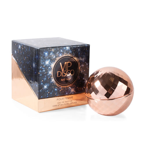 Disco Ball: Eau De Parfum (Rose Gold) - 100ml