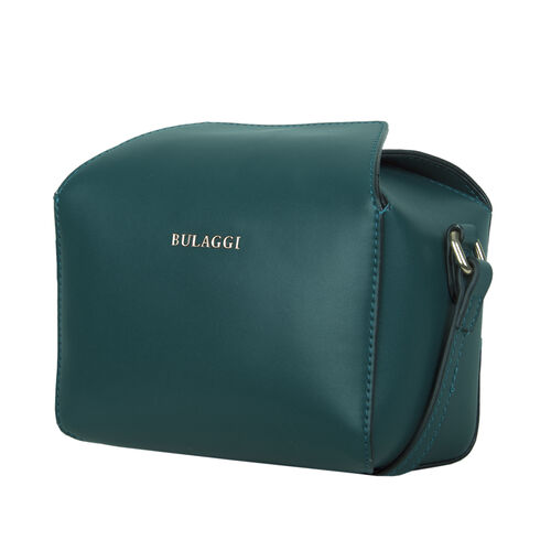 Bulaggi Collection - Bonbon Cute Crossbody Bag with Adjustable Strap (Size 10x12x18cm) - Emerald Green