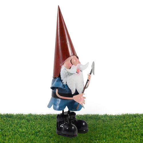 ROLSON Garden Gnome with Shovel (Size 13.5x17x38 Cm)