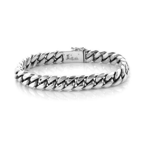 Royal Bali Collection Sterling Silver Snake Bone Bracelet (Size 8), Silver Wt: 60.68 Gms.