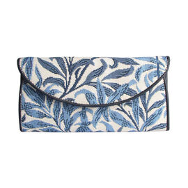 Signare Tapestry - Willow Bough Envelope Purse (Size 19.5x10x3 Cm)