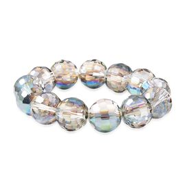 Magic Color Glass Beaded Bracelet 6 Inch