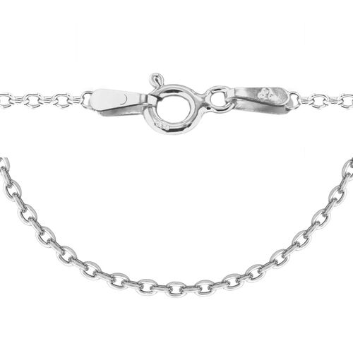Sterling Silver Trace Chain (Size 24), Silver wt 4.20 Gms