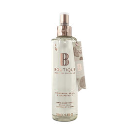 Boutique: Mandarin, Basil & Grapefruit Hair & Body Mist - 250ml