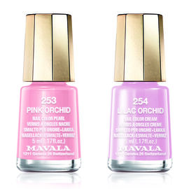 Mavala: Pink Orchid 253 & Lilac Orchid 254 (Duo Mini Colour 2x5ml)