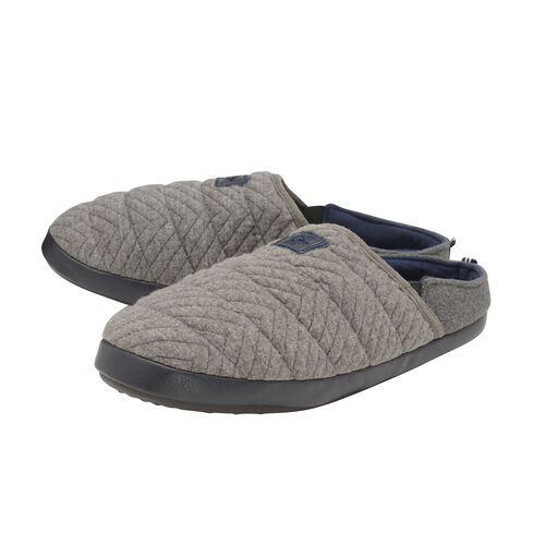 Dunlop Mens Mules Slipper in Grey Colour