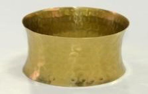 Gold Plated Brass Cuff Bangle