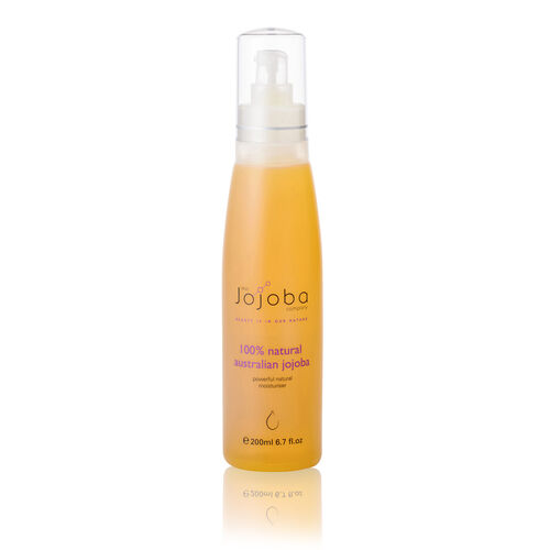100% Natural & Organic Australian Jojoba Golden Liquid Wax Ester - 200ml