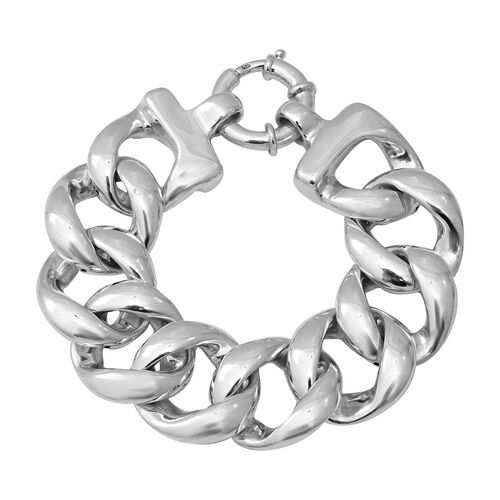 Curb Link Bracelet in Sterling Silver 39.30 Grams 8 Inch