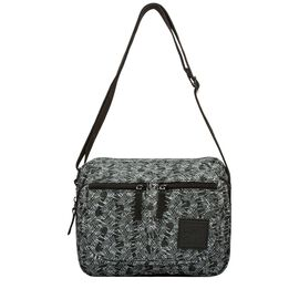 Artsac - Grey Colour Multipocket Crossbody Bag (Size 270 x190 x110 mm)