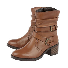 Lotus Tan Leather Iowa Ankle Boots