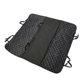 Waterproof and Scratch-Proof Dog Seat Cover for Car (Size 134x144cm) - Black