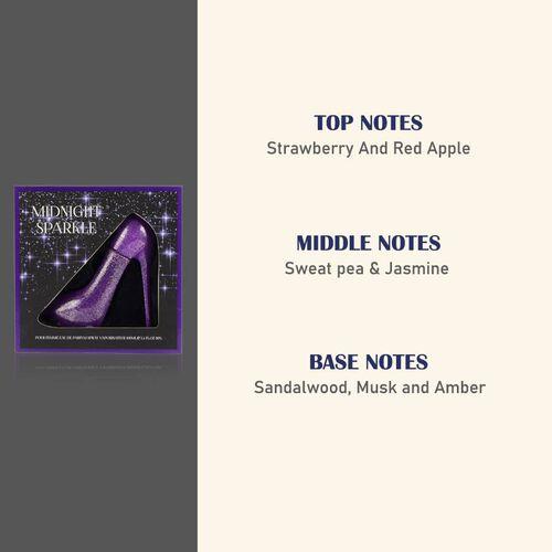 Sexxy Shoo: Midnight Sparkle Eau De Parfum - 100ml