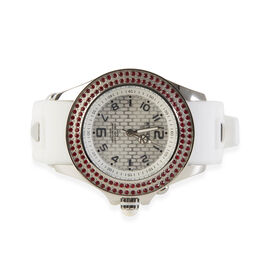 KYBOE Radiant Collection Japanese Movement 100M Water Resistant Spirit LED Watch in Stainless Steel