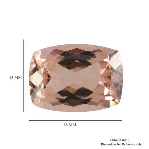 AAAA Morganite Cushion 18x13 Faceted 14.06 Cts