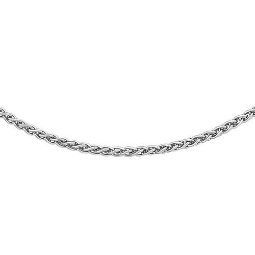 RHAPSODY 950 Platinum MIni Spiga Chain (Size 20), Platinum wt. 4.30 Gms